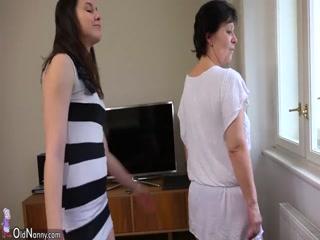 Внук трахает русскую бабу